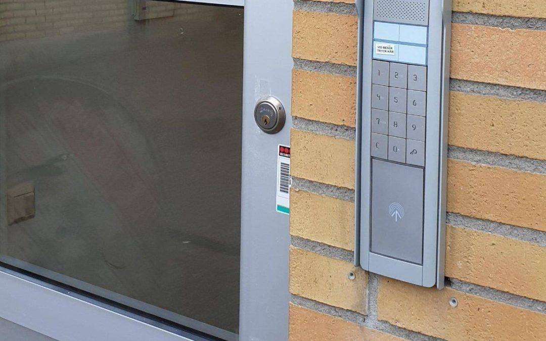 Nytt port- & passersystem i Västerås