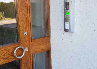 AT Installation installerar port- och passagesystem för BRF Lyckegården