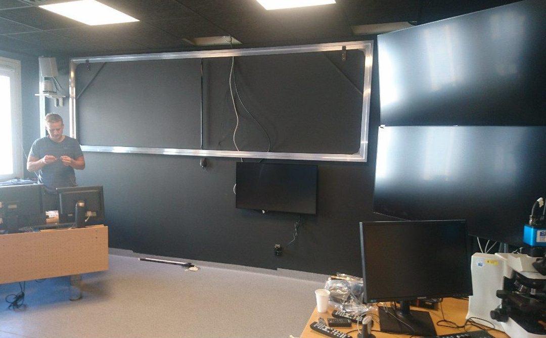 AT Installation installerar AV på Västerås Sjukhus